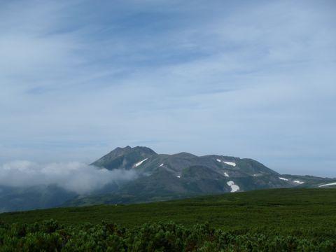 五色岳からトムラウシ