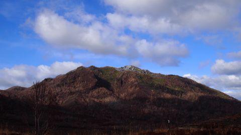 風不死岳へ1