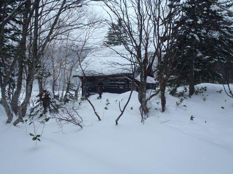 北大の小屋