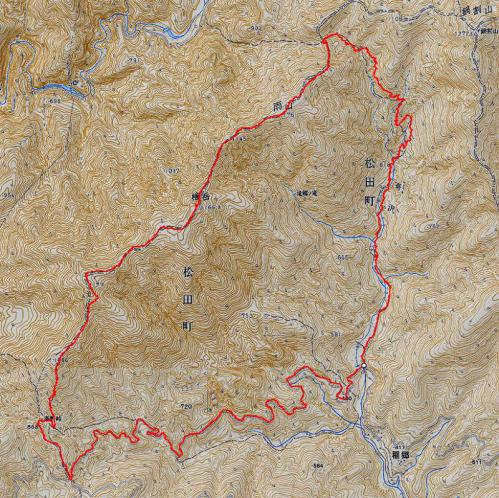 121216 桧岳軌跡