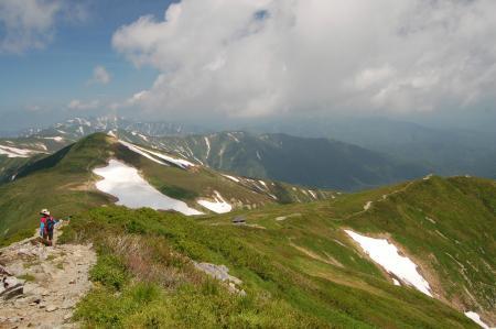 131大朝日岳から下山