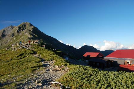 85北岳山荘