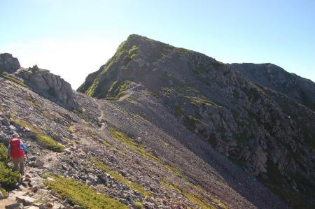 125農鳥岳