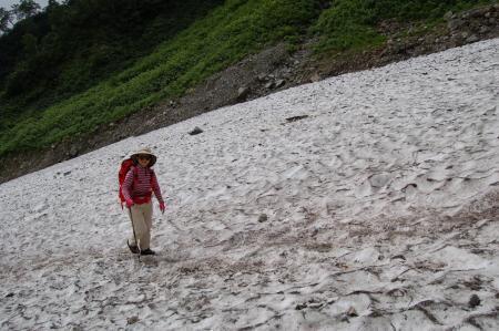 11大雪渓
