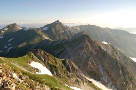 60鑓ヶ岳山頂から
