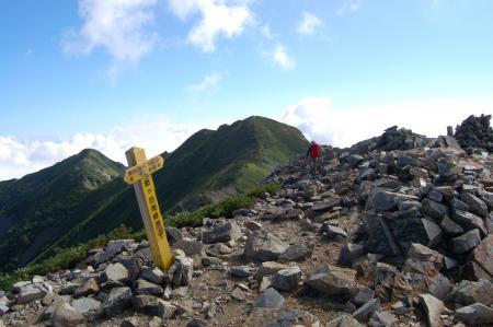 14爺ヶ岳南峰
