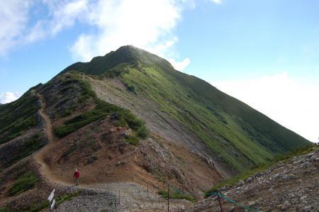 15爺ヶ岳中峰へ