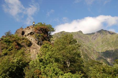 9登山道から