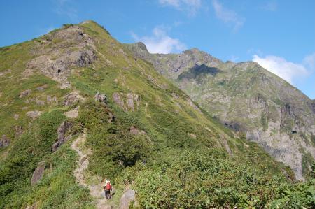 11登山道から