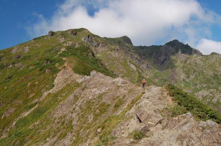 13登山道から