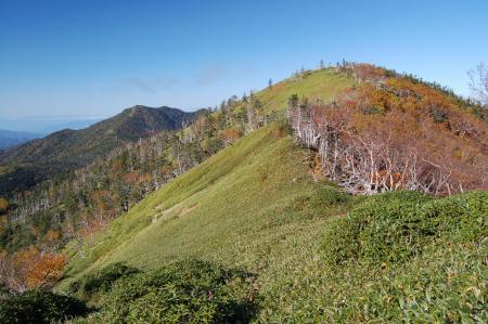 6白桧岳と錫ヶ岳