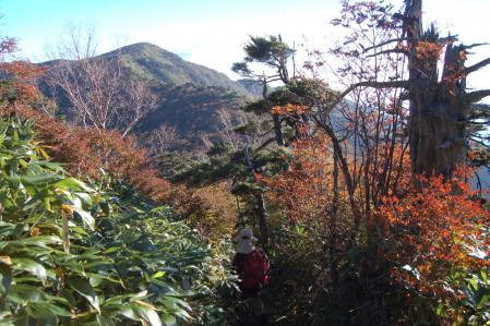 3白笹山から南月山