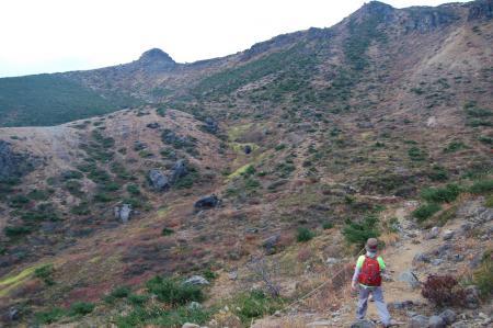 40峰の辻から安達太良山へ