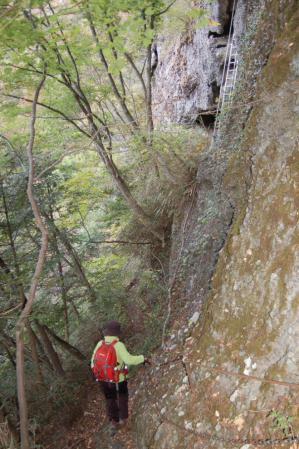 4篭岩展望台