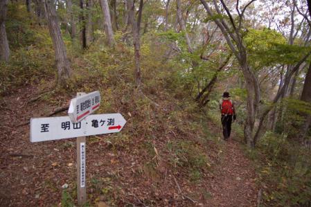 22上山ハイキングコース