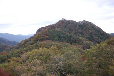 25上山ハイキングコース一枚岩