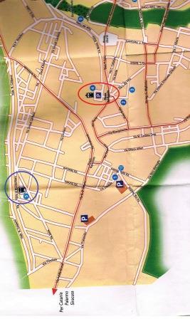 ラグーサバスターミナル地図
