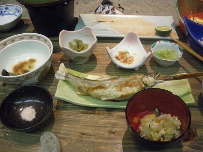 鮎の串焼き001