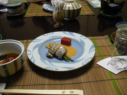 太刀魚の夏野菜巻き