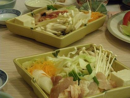 軍鶏のすき焼き001