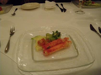 北海道産タラバ蟹のサラダ仕立