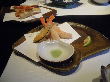 ずわい蟹の天麩羅001ap