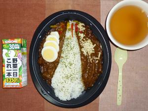 東京スカイツリーカレー,野菜ジュース,スープ