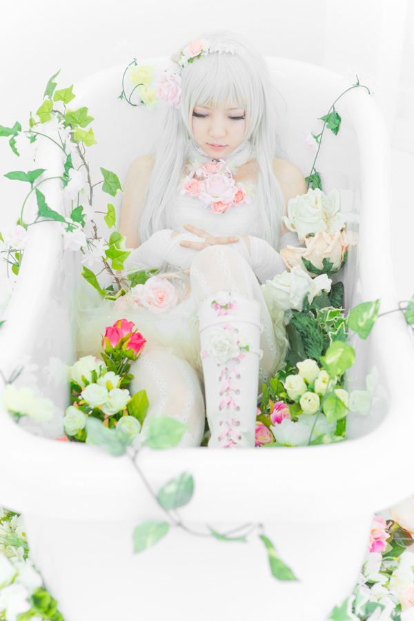 Artificial Flower Girl_9