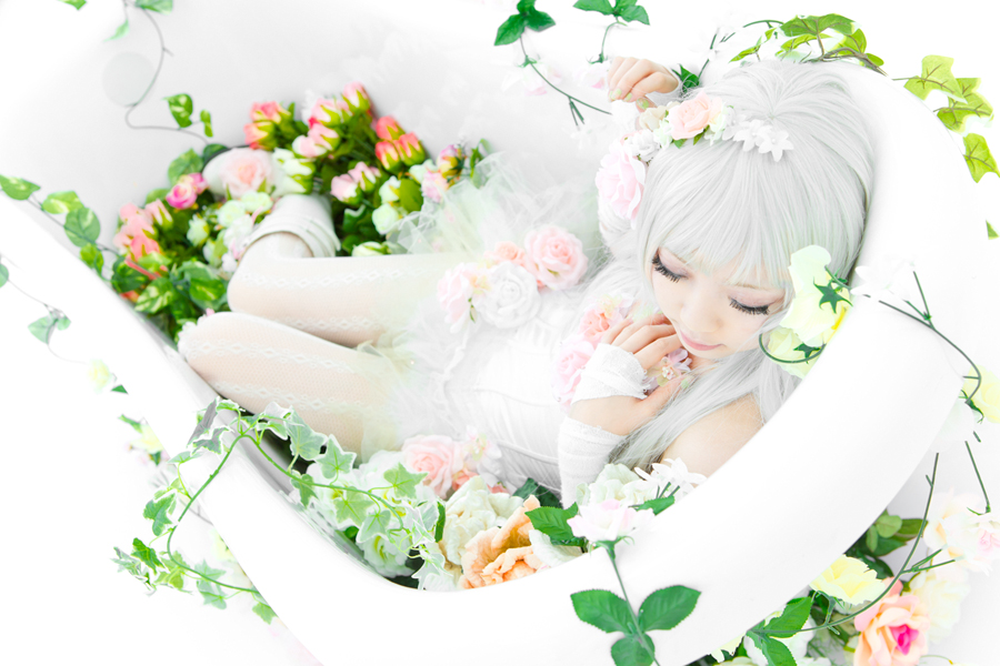 Artificial Flower Girl_8