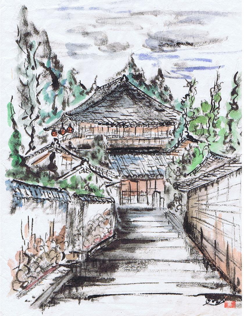奈良 二月堂裏参道