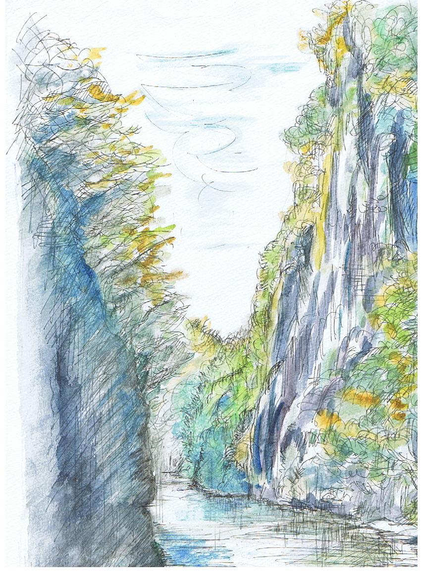 岩手 秋のげいび渓