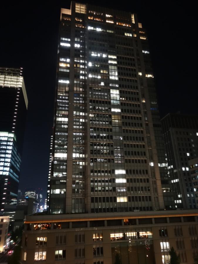 丸ビル夜景