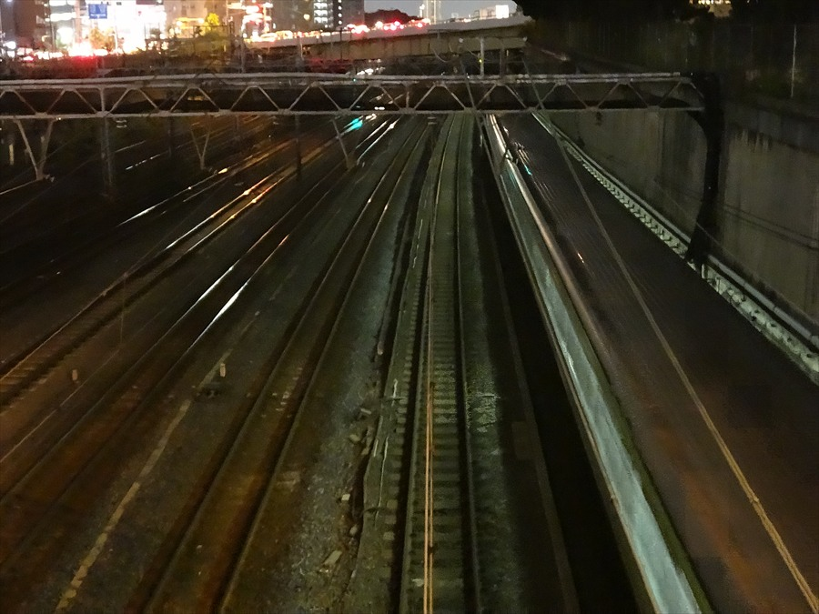 品川八つ橋から鉄路