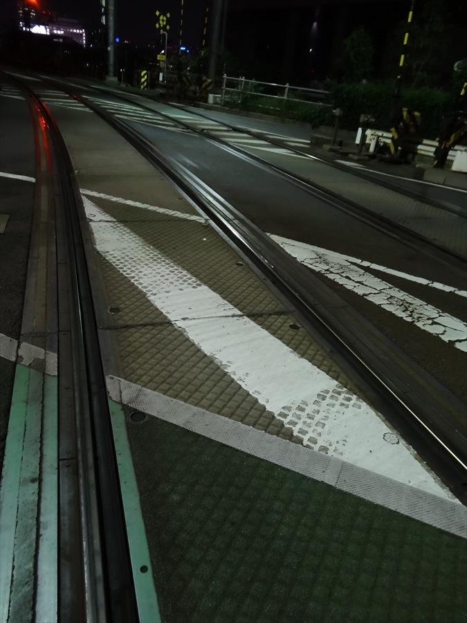 品川八つ橋京急踏切線路
