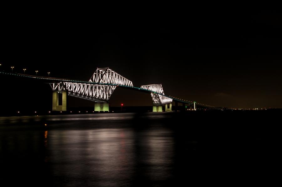 ゲートブリッジ夜景全景k7