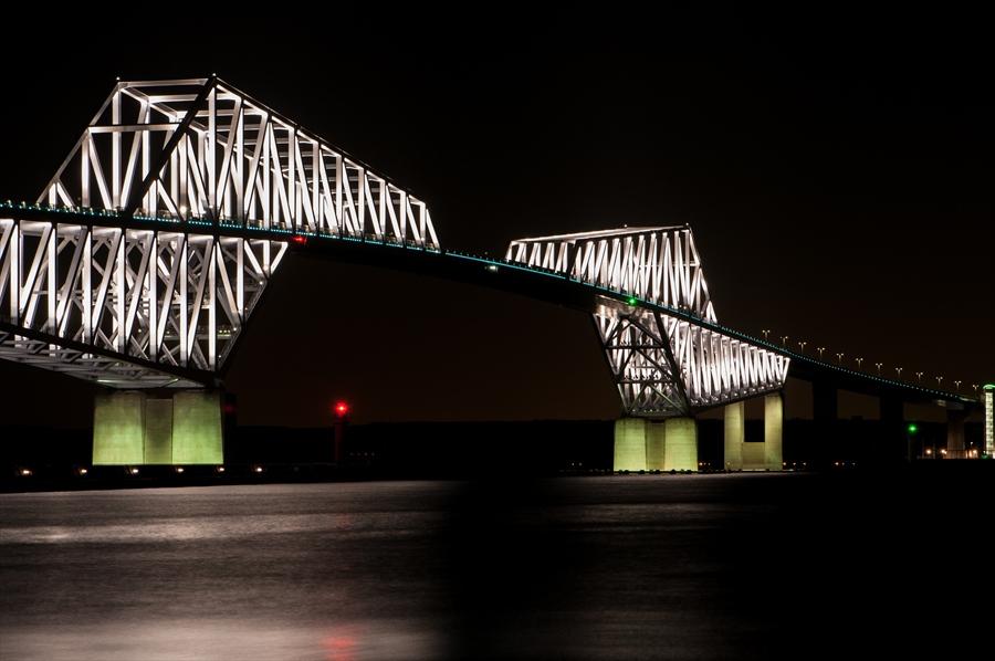 ゲートブリッジ夜景k7アップアップ
