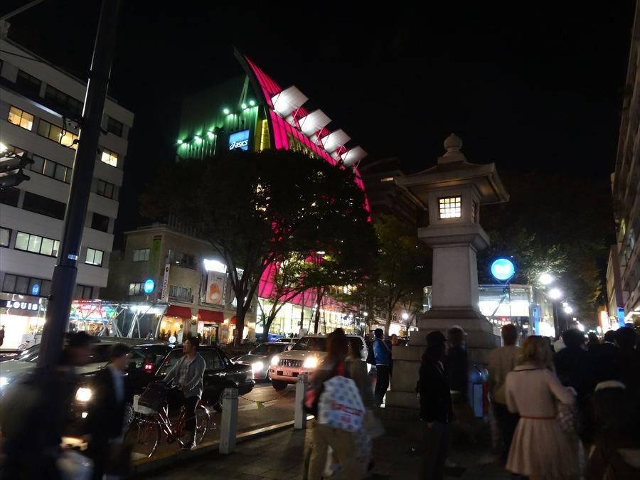 表参道灯篭