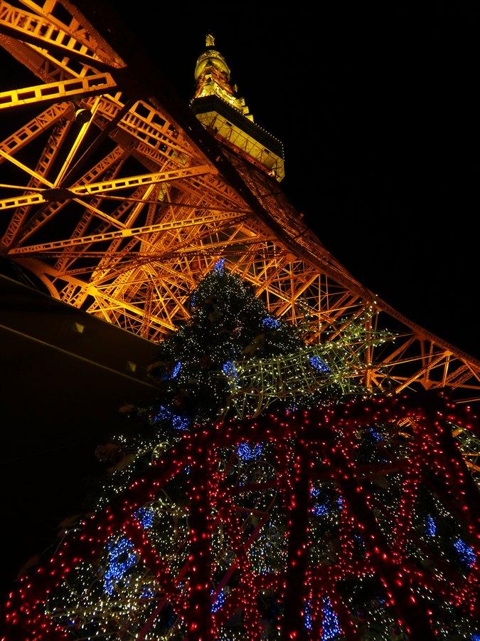 東京タワー見上げる01