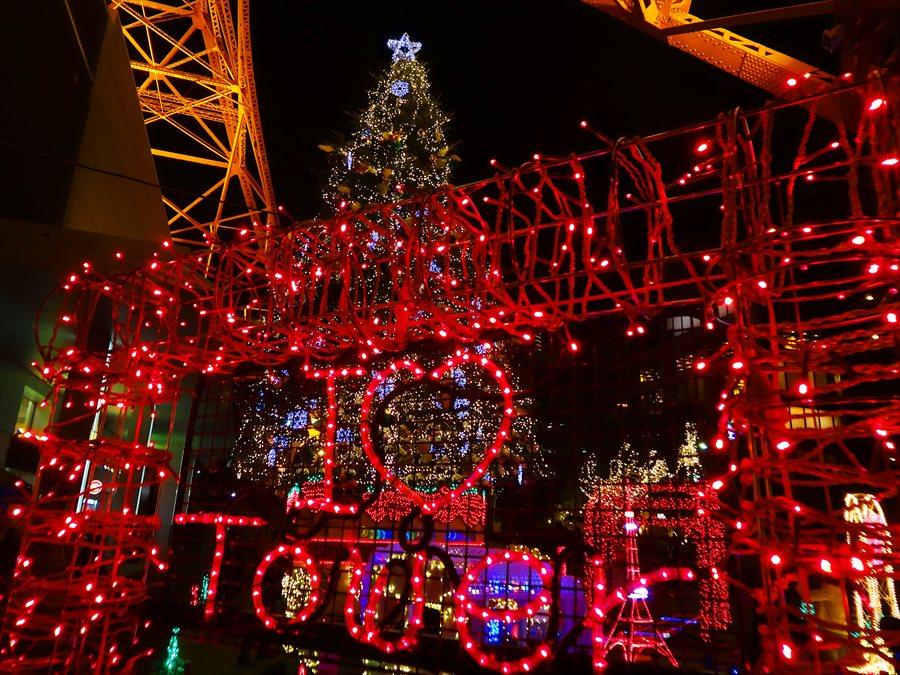 東京タワーイルミネーションゲート