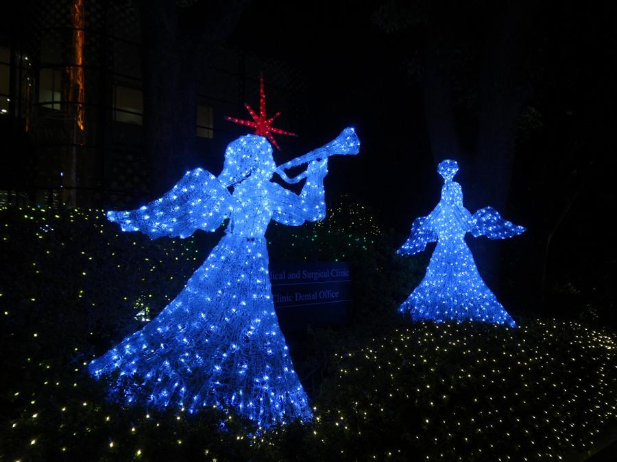 東京タワーイルミネーションブルー天使