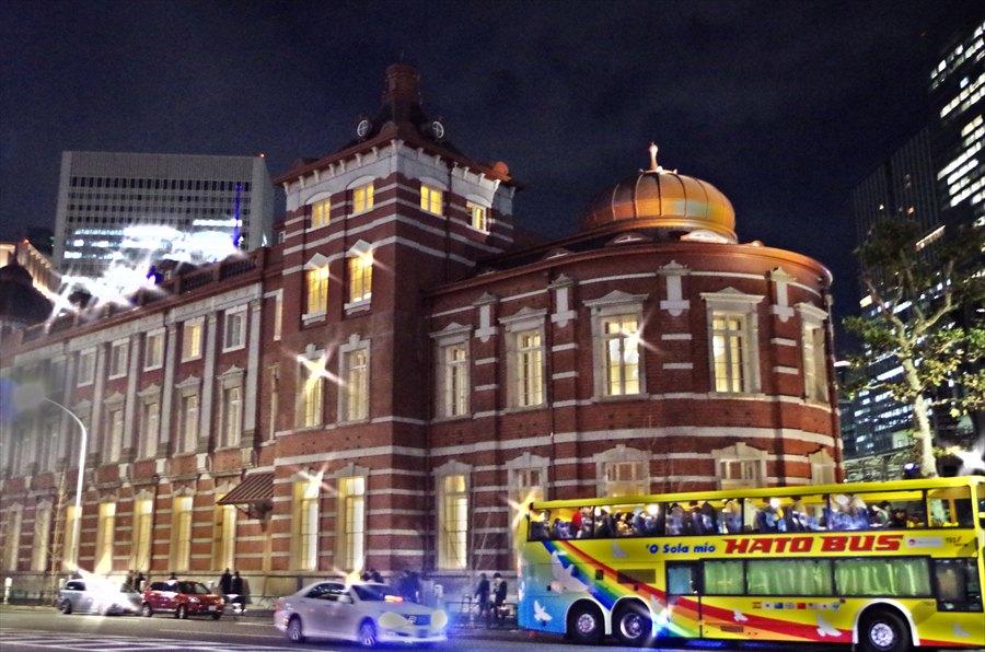 東京駅南口ライトアップトイカメラ風