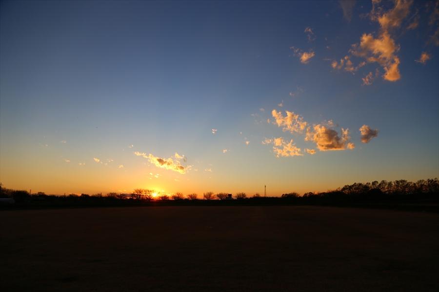 EOS6D初撮り撮って出し夕焼け