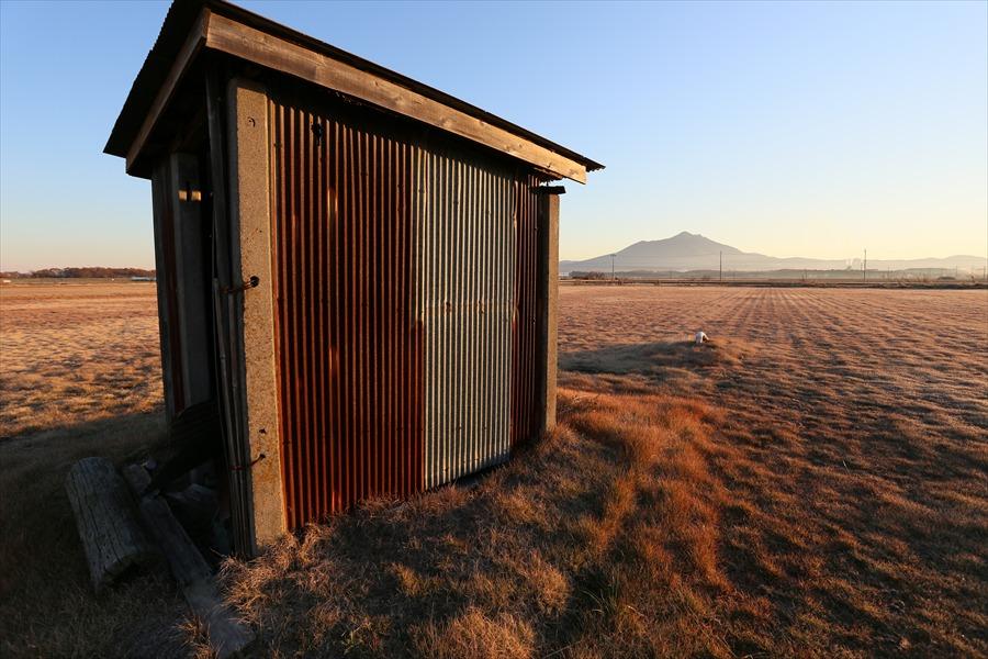 EOS6D初撮り撮って出しポンプ小屋筑波山