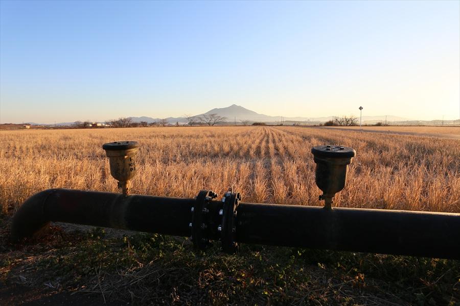 EOS6D初撮り撮って出し導水管双子筑波山