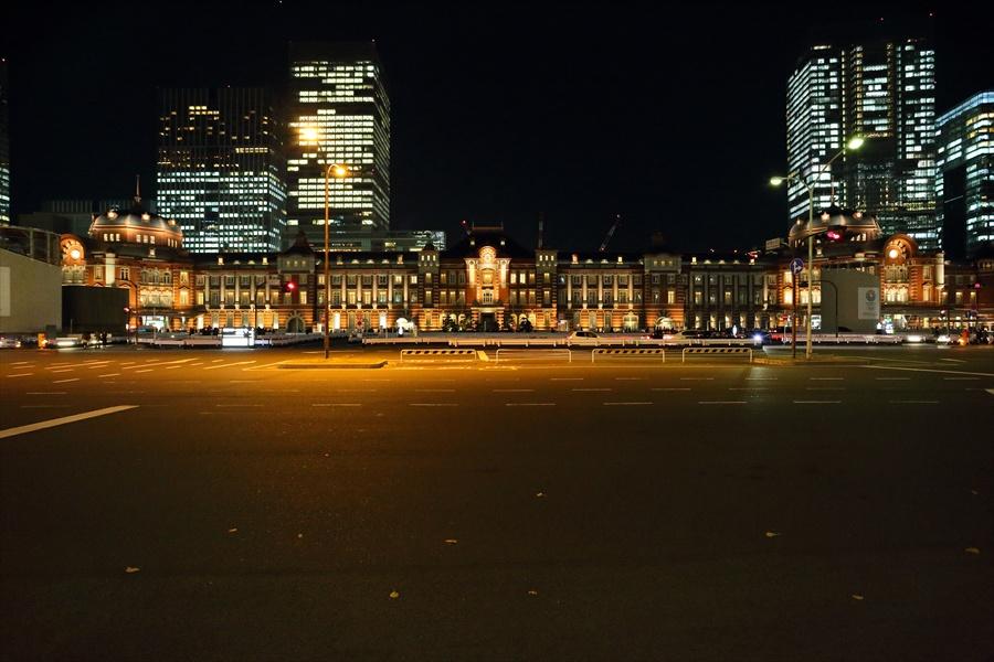 EOS6D東京駅全景