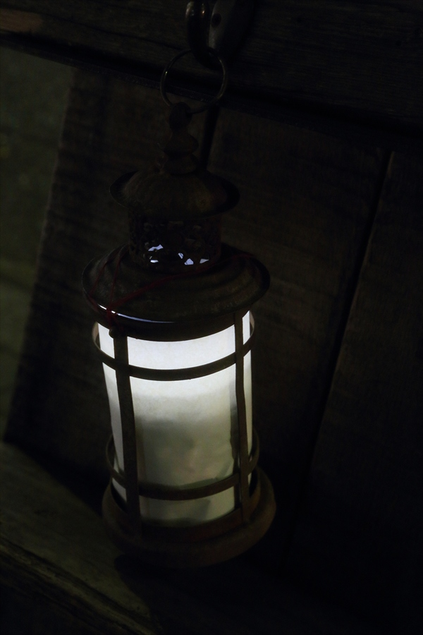 銀座灯りショップ広告ランプシェードイルミ02