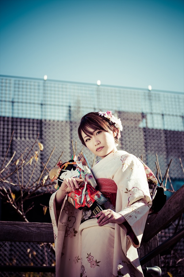 A全東京写真連盟芝公園川西ちえ古い写真風01