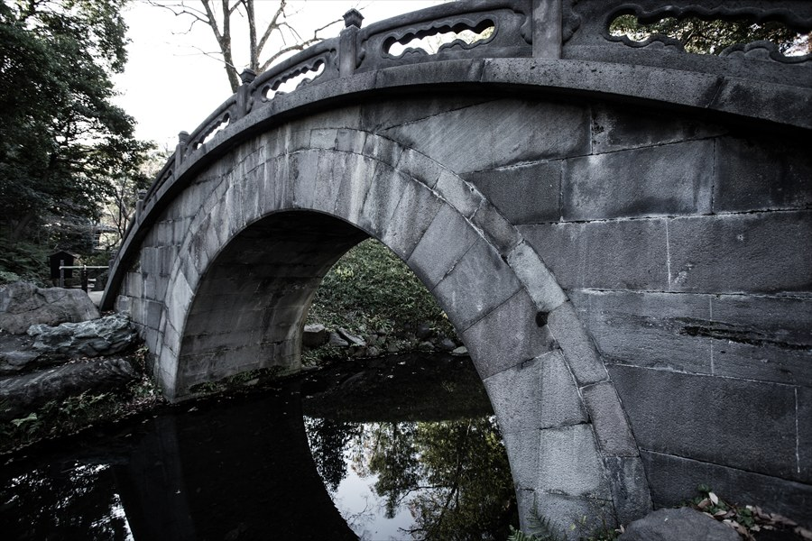 小石川後楽園池周辺三景04