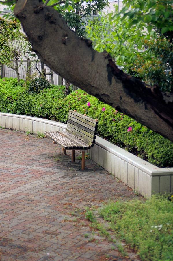 団地庭園椅子