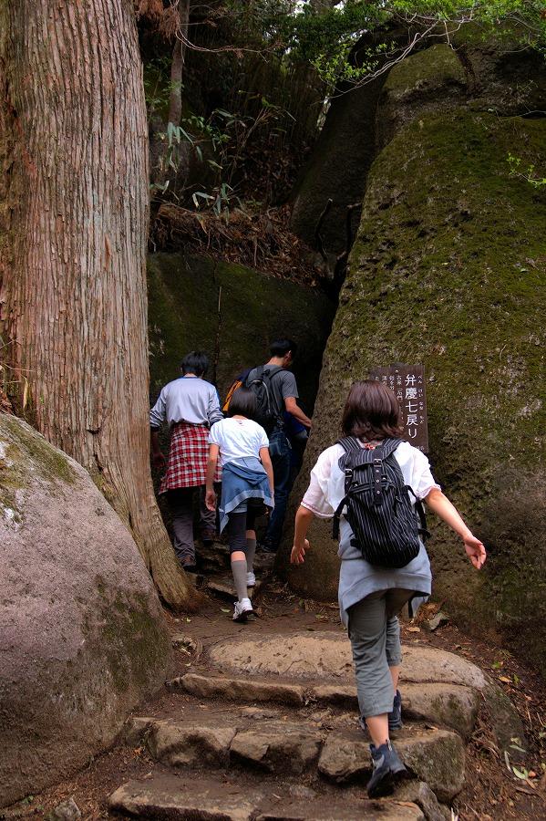 筑波山登山道02